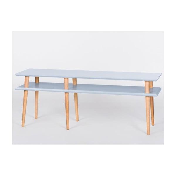 Světle šedý konferenční stolek Ragaba Mugo,délka159cm