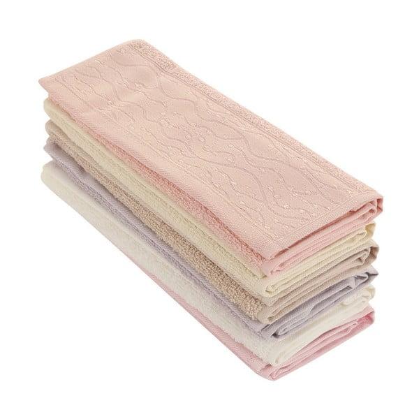 Sada 6 ručníků Tomruck, 30x50cm
