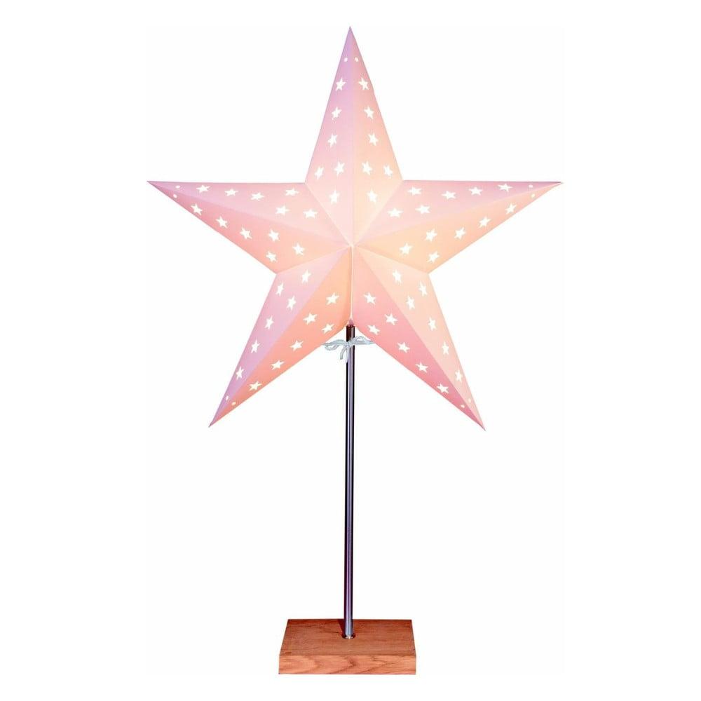 Svítící hvězda se stojanem Best Season Star On Base Oak