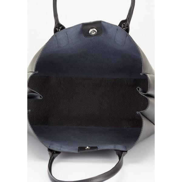 Kožená kabelka Lisa Minardi 2508 Black