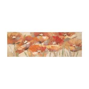 Ručně malovaný obraz Mauro Ferretti Poppies, 50x150cm