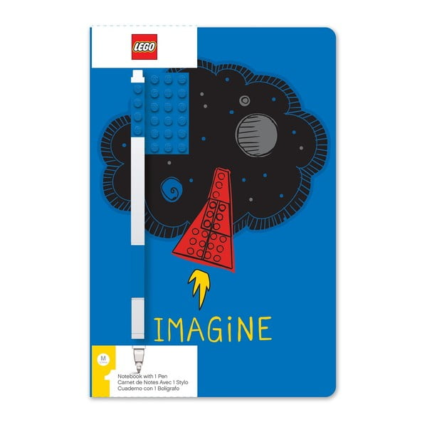 Set agendă și pix LEGO® Imagine