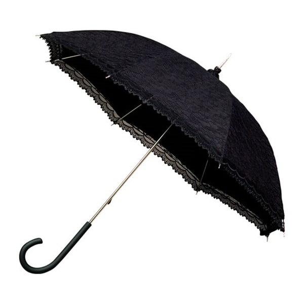 Falconetti Victorian fekete esernyő, ⌀ 85 cm - Ambiance