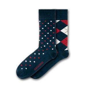 Sada 2 párů ponožek Black&Parker London Deanery Garden, velikost 37 – 43