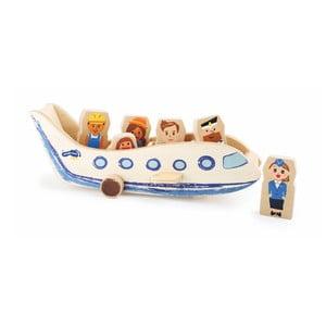 Dřevěná hračka Legler Plane