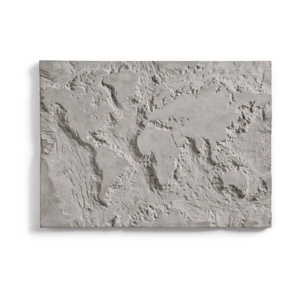 Decorațiune din beton pentru perete Lyon Béton The Grey Planet