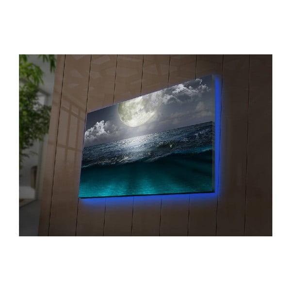 Podsvícený obraz Simon, 70x45cm