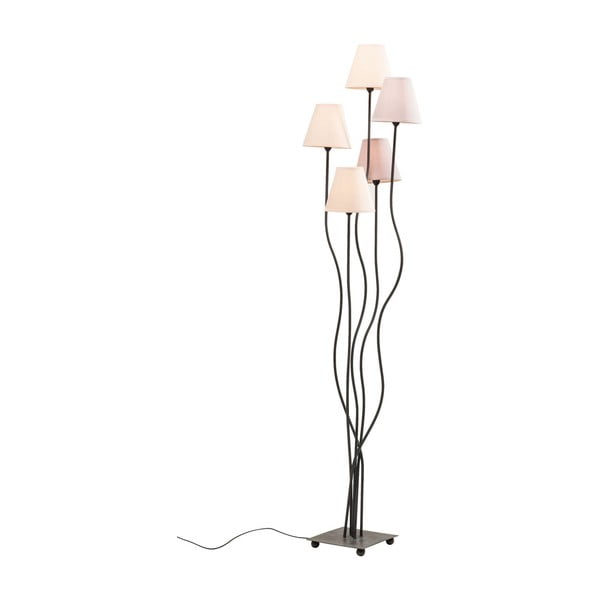 Stojací lampa s fialovými stínidly Kare Design Cinque