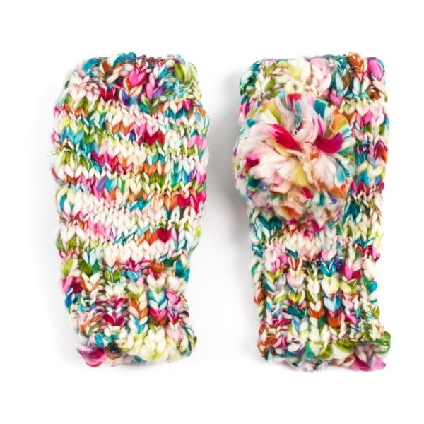 Pestrobarevné rukavice Zora