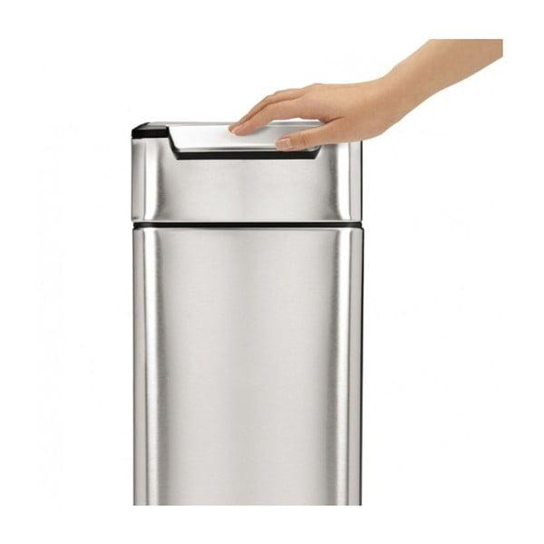 Dotykový odpadkový koš simplehuman Tight, 40 l