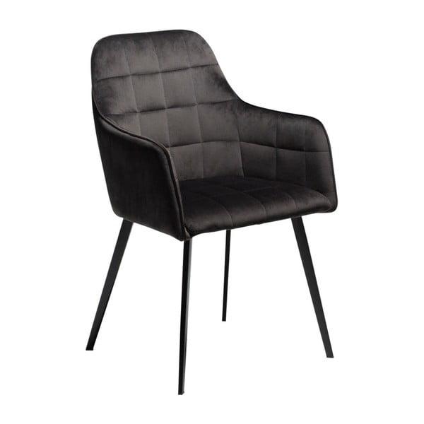 Czarne krzesło DAN-FORM Denmark Embrace