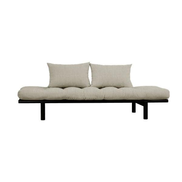 Canapea Karup Design Pace Black, gri - bej