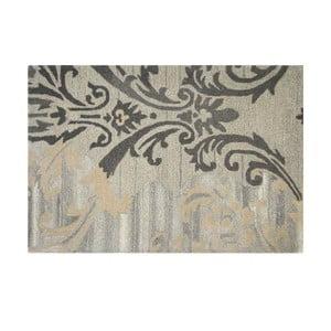 Vlněný koberec Gold Damask, 121x182 cm