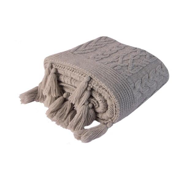 Šedá deka Homemania Tutu,170x130cm