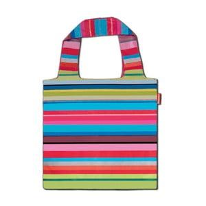 Skládací nákupní taška Remember Stripes, 19 l