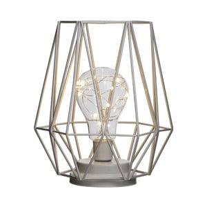 Krémová stolní LED lampa Ixia Dona