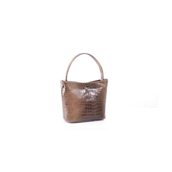 Kožená kabelka Dorothée, hnědá