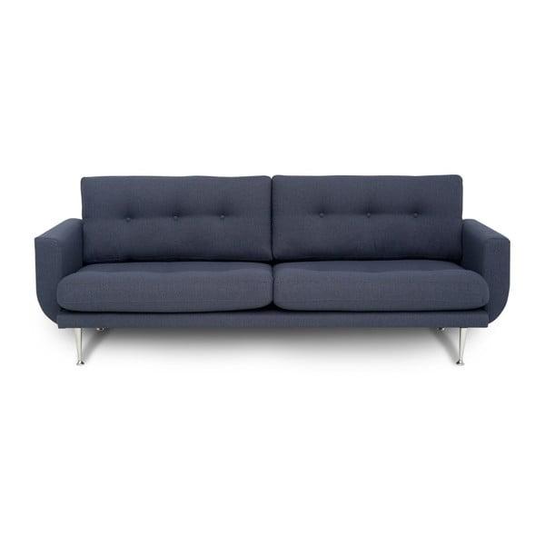 Fly kékesszürke háromszemélyes kanapé - Softnord