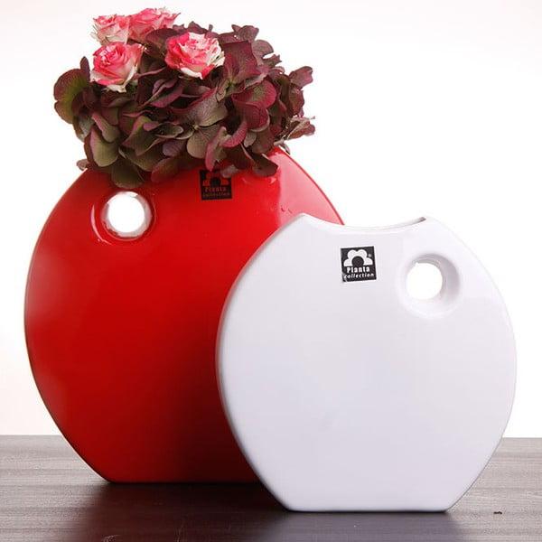 Váza Arros 18 cm, bílá