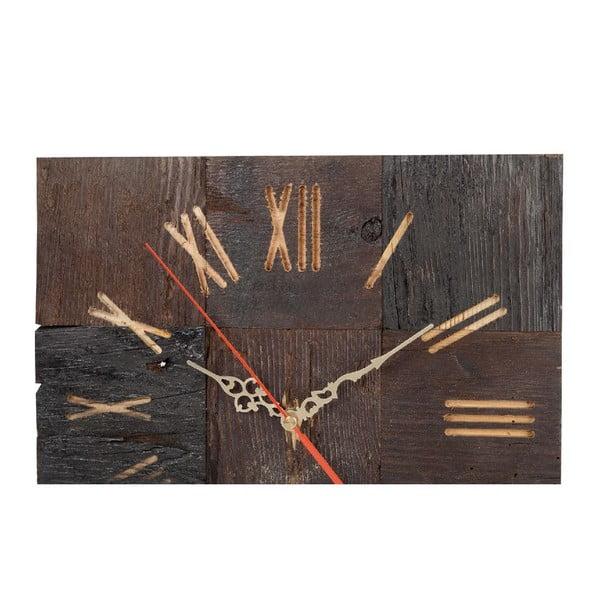 Nástěnné hodiny Brown Roman