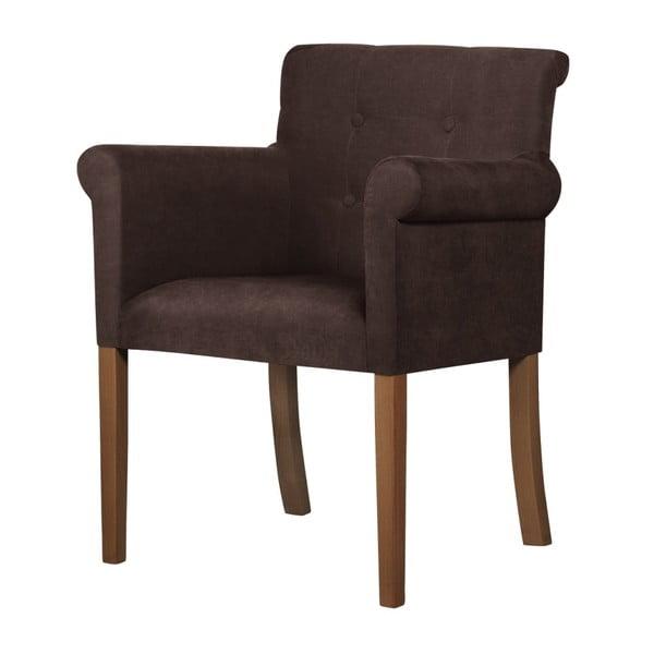 Flacon barna bükk szék sötétbarna lábakkal - Ted Lapidus Maison