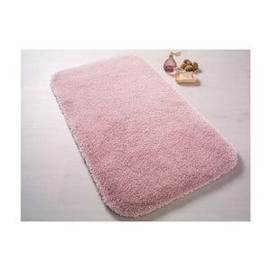 Světle růžová předložka do koupelny Confetti Bathmats Miami, 67x120cm