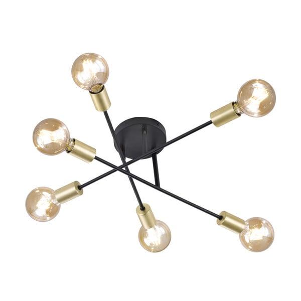 Plafonieră Trio Cross, înălțime 19 cm