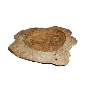 Mísa na ovoce z teakového dřeva HSM Collection XXL, Ø70cm