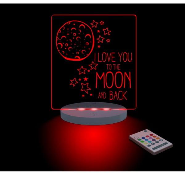 Dětské LED noční světýlko The Moon and Back