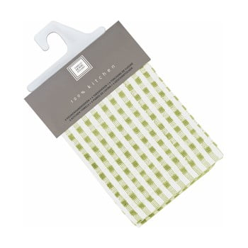 Set 6 prosoape de bumbac Tiseco Home Studio Cristal, 32 x 35 cm, verde imagine