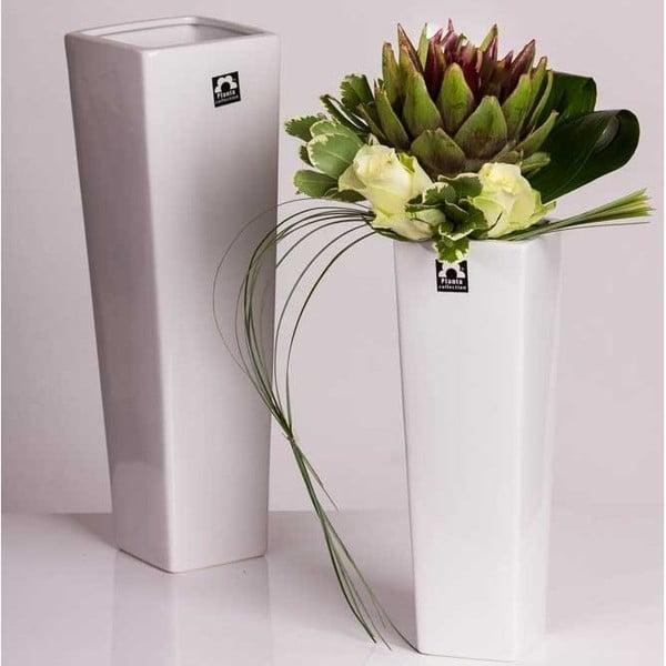 Váza Saona 27 cm, bílá