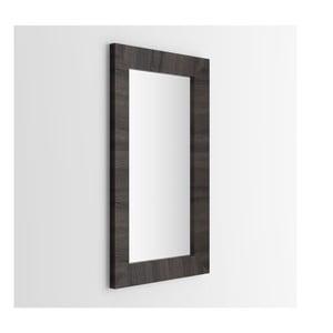 Zrcadlo v dekoru tmavého dubu MobiliFiver Giuditta, 65x110cm