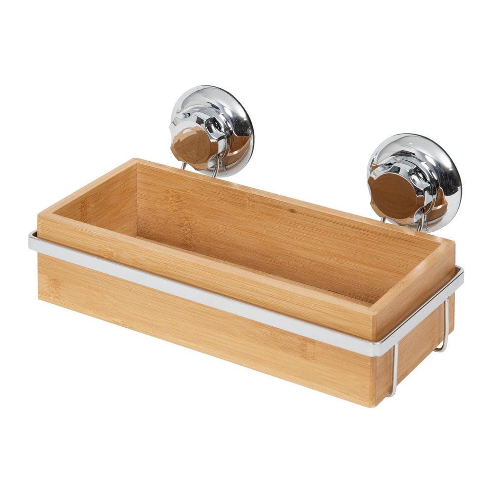 Bambusový držák na koupelnové doplňky Compactor Spa