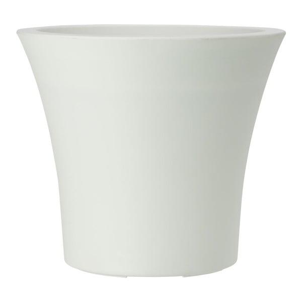 Květináč City Curve White, 35x33 cm