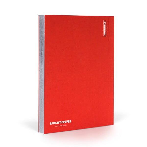Zápisník FANTASTICPAPER A5 Cherry/Silver, čistý