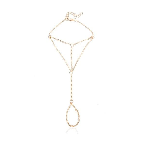 Damska bransoletka w złotym kolorze NOMA Rosalie