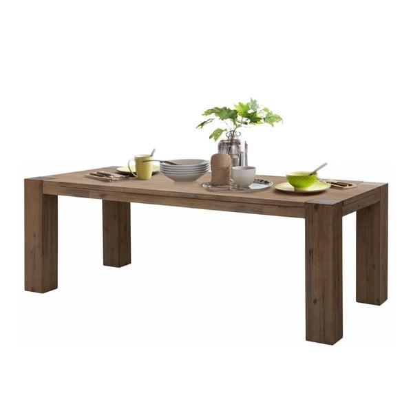 Jídelní stůl z akáciového dřeva Støraa Maggie, 90x180cm
