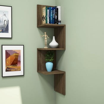 Raft de colț pentru perete Zikzak de la Puqa Design