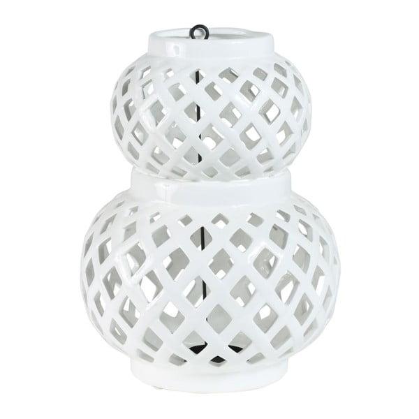 Lucerna Crois White, 20,5x20,5x29,5 cm