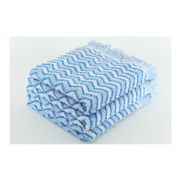Sada 3 osušek Lora Alaska Blue, 50x100 cm