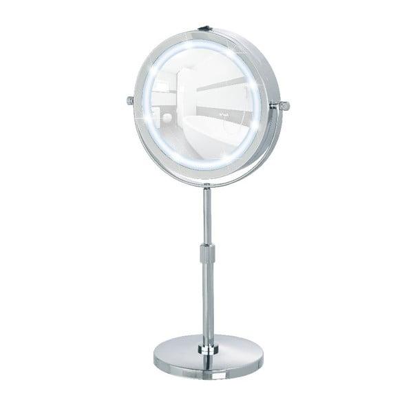 Zvětšovací stolní zrcadlo s LED světlem Wenko Lumi