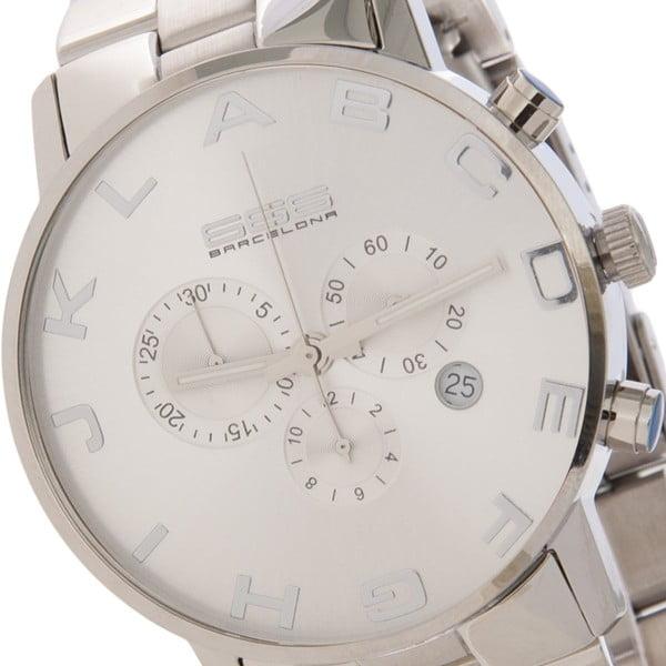 Pánské hodinky Alphabeth Steel Chrono Silver