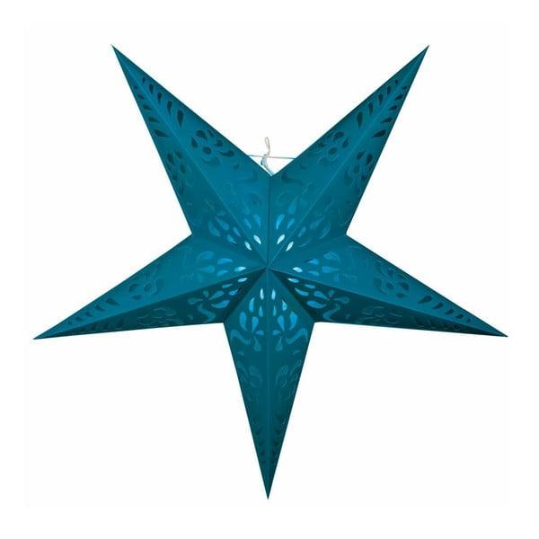 Závěsná dekorativní hvězda Five Blue, 60 cm