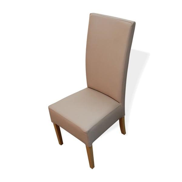 Židle 107 Beige Karo