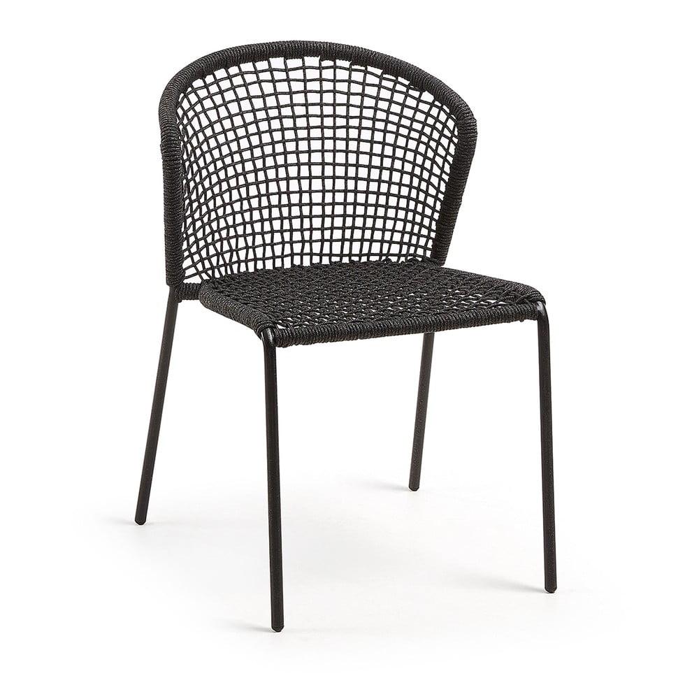 Černá židle La Forma Mathew