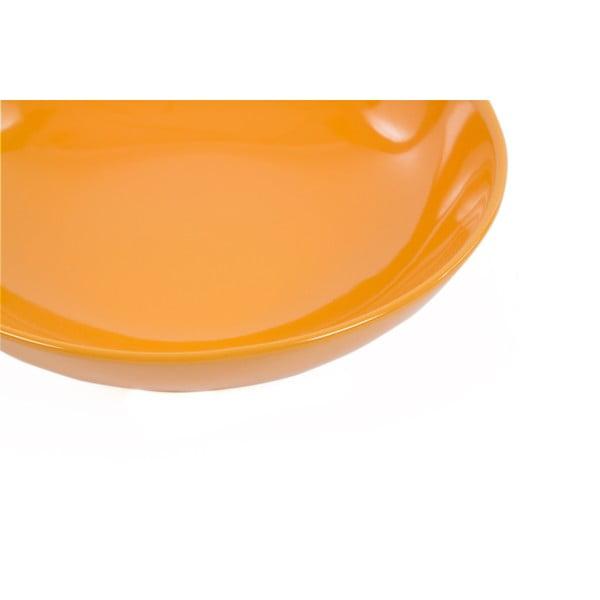 Sada 6 talířů Kaleidos 21 cm, oranžová