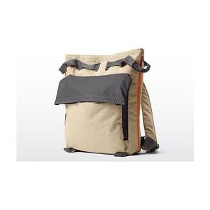 Béžová plážová taška/batoh Terra Nation Tane Kopu,28 l