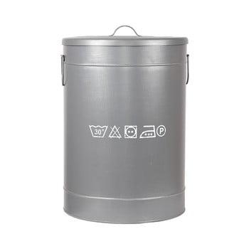 Coș metalic pentru rufe LABEL51, ⌀40cm imagine