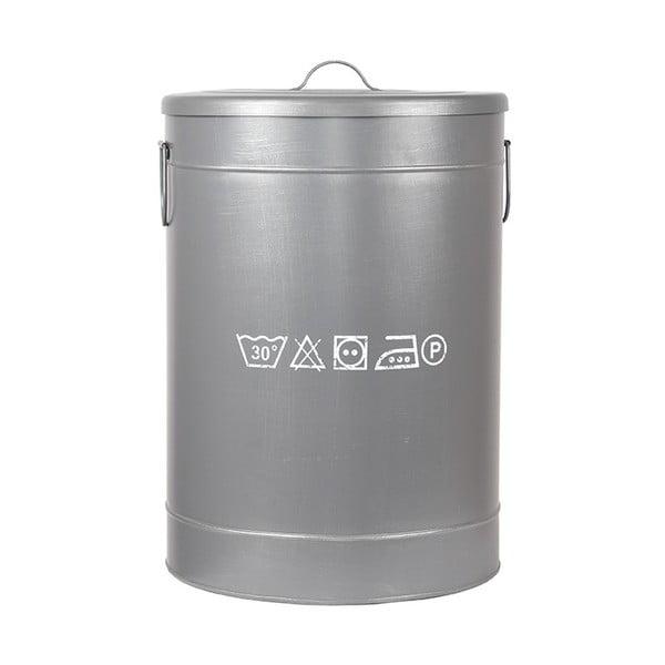 Kovový kôš na špinavé prádlo LABEL51, ⌀ 40 cm