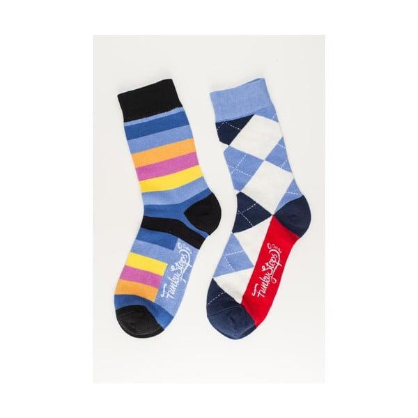 Sada 2 párů unisex ponožek Funky Steps Krump,velikost39/45